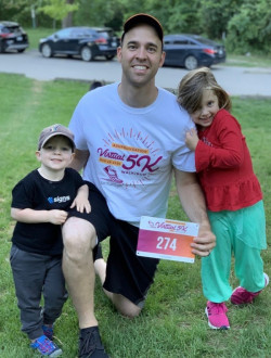 Simucase sponsored the first ASHFoundation virtual 5K on August 29.